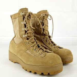 Military Combat Boots Vibram Soles Men Size 6 Wide